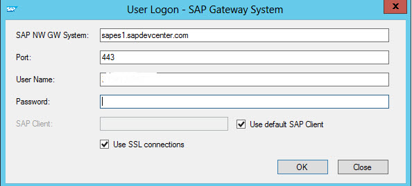 Connect SAP Data to SharePoint Online/Office 365 using SAP Gateway