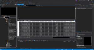 Results in Azure SQL DB