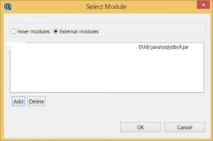 Select connection module
