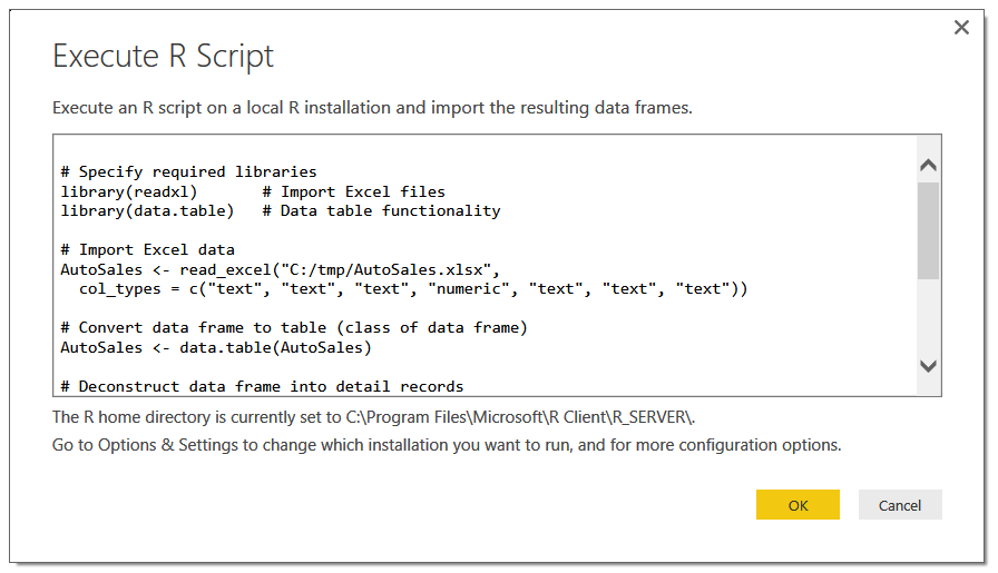 A Guide to Using R with Power BI - SPR