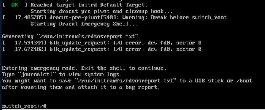 12 Steps to Password Recovery for RHEL, CentOS 7 Linux - SPR