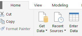 Enter Data menu option